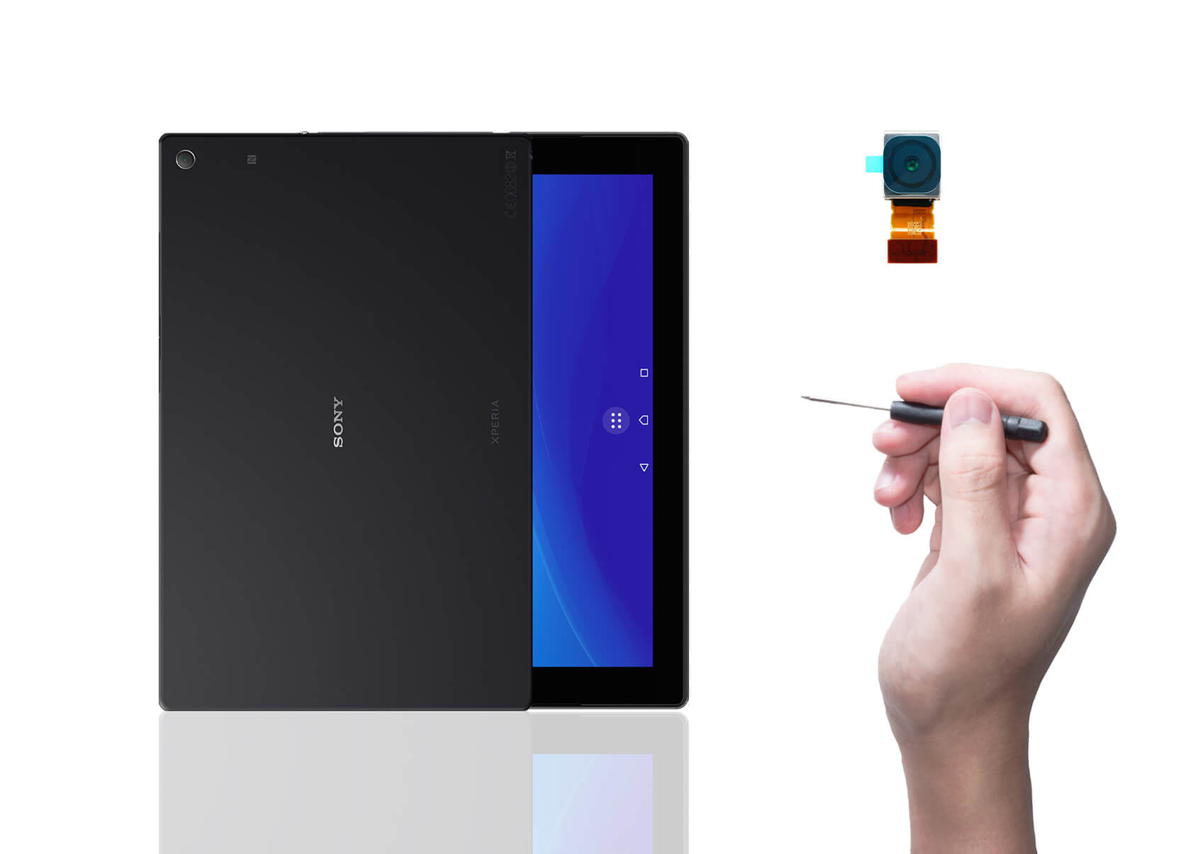 ricambi tablet sony